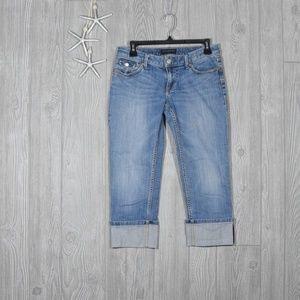 Banana Republic Crop Cuffed Jeans Sz 26/2